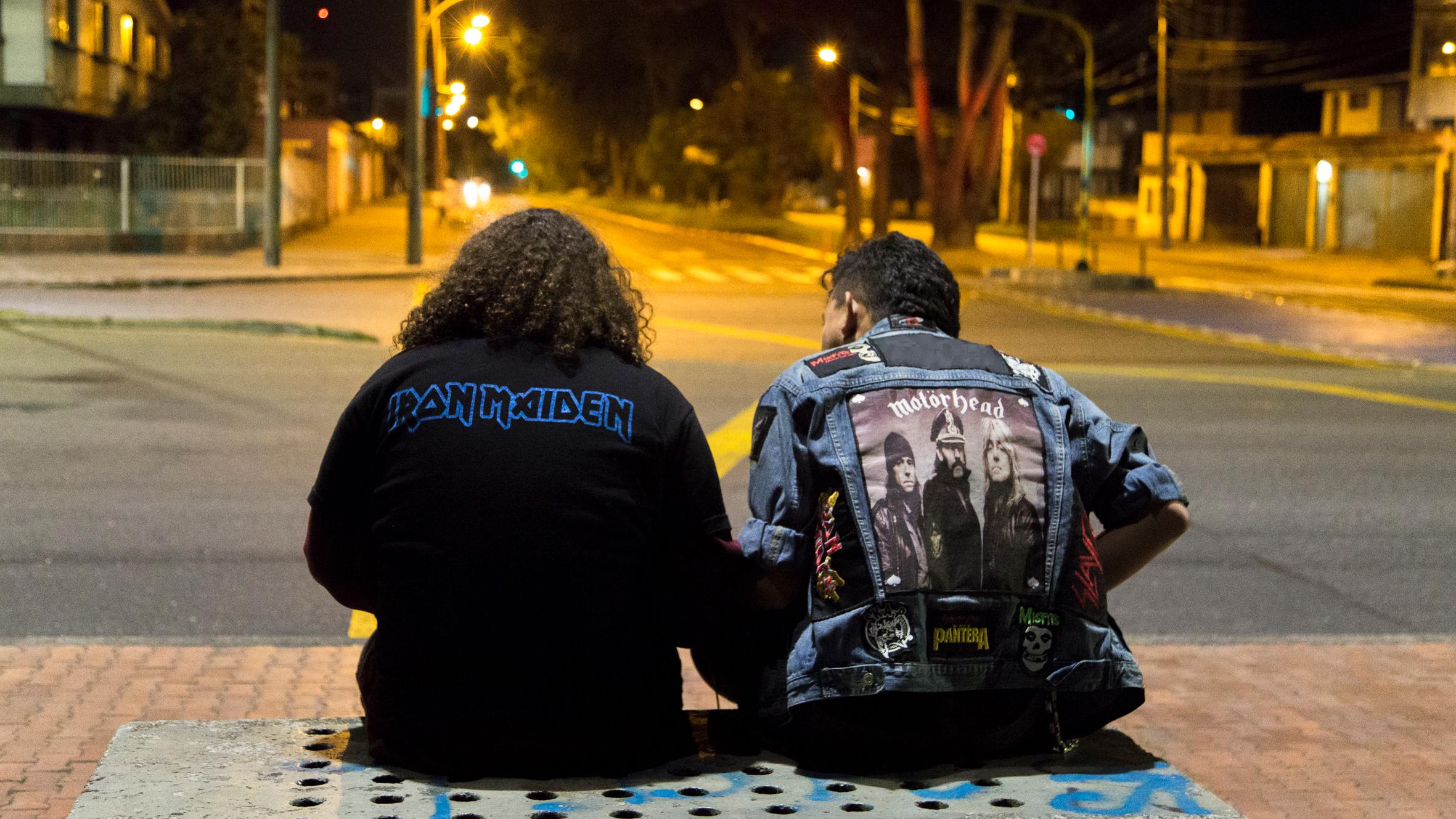 Música, amistad y Bogotá en 'La Noche de la bestia'