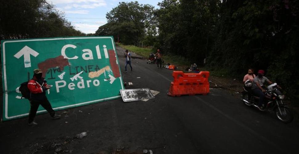 Desbloquean la Vía Panamericana