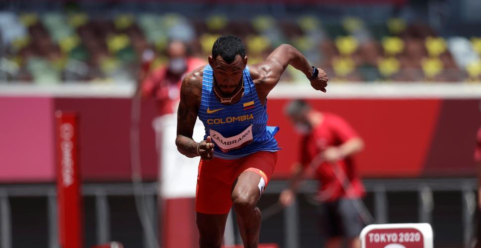 Anthony Zambrano ya está en semifinales del atletismo