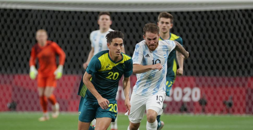 Argentina se complica en el fútbol olímpico
