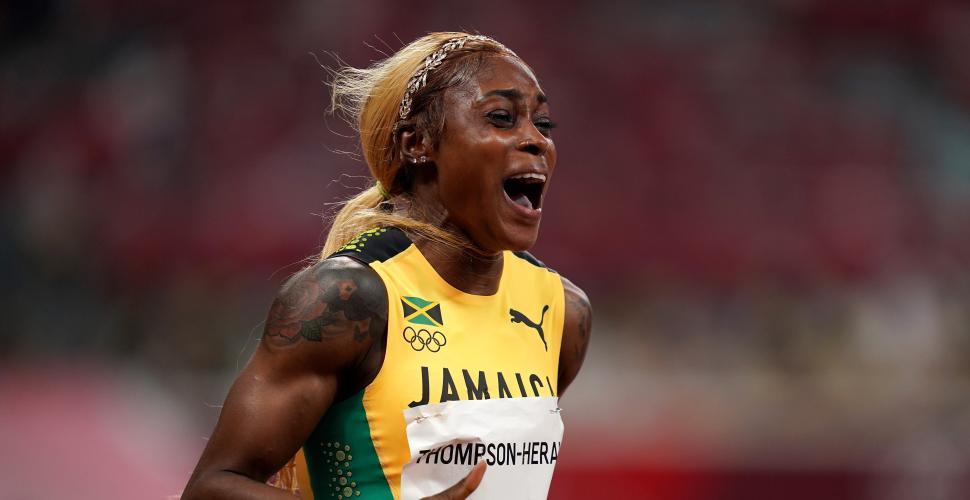 Elaine Thompson reina de la velocidad en un triplete jamaicano