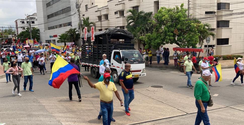 Barranquilla tendrá dos concentraciones este 20 de Julio