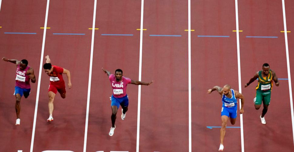 El italiano Lamont Marcell Jacobs sucede a Bolt en los 100 metros