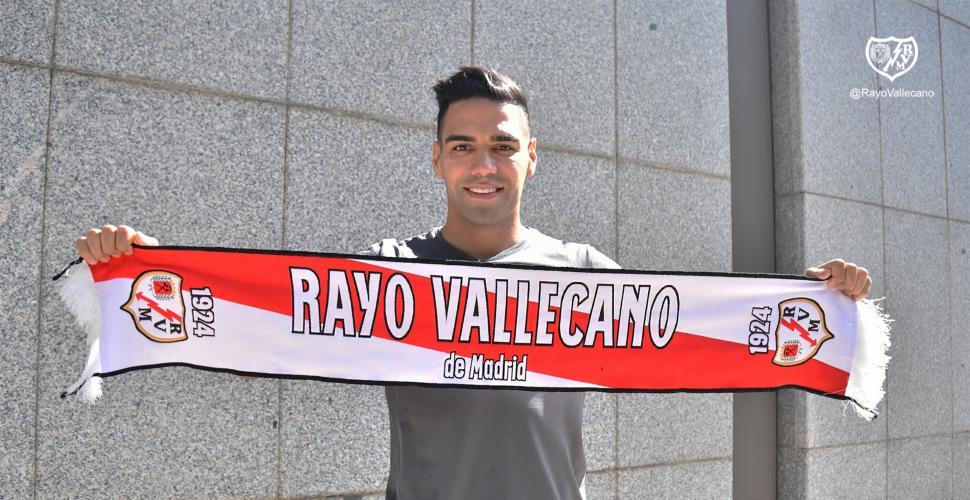 Falcao y Arboleda ya entrenan con el Rayo Vallecano