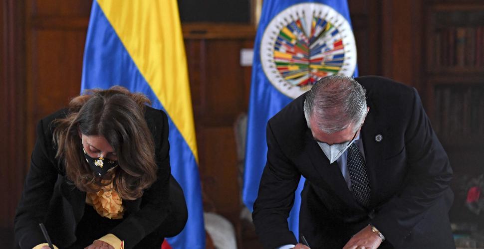 Misión de apoyo de la OEA a la paz irá hasta el 2024