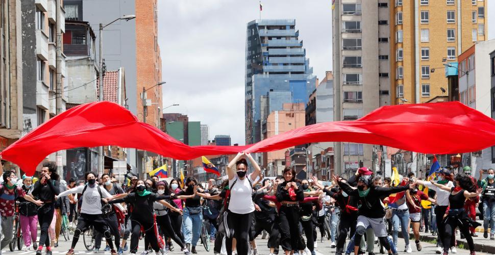 Jóvenes, los más pesimistas sobre Bogotá